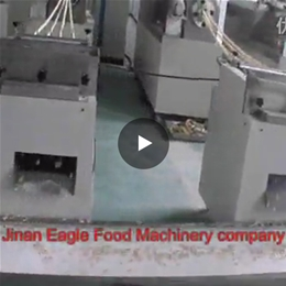wheat sticks snacks food continuous frying machine