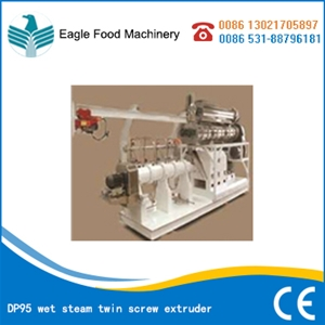 DP95 wet steam twin screw extruder