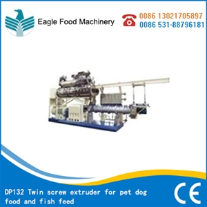 DP132 Twin screw extruder for pet dog food and fish feed