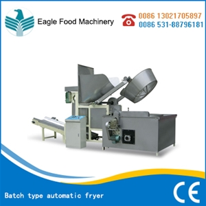 Batch type automatic fryer