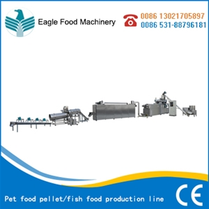 Pet food pellet/fish food production line